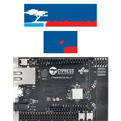 Cypress' WICED 802.11ac Wi-Fi CYW54907 EK