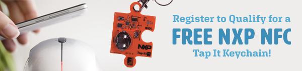 FREE NXP NFC Tap It Keychain