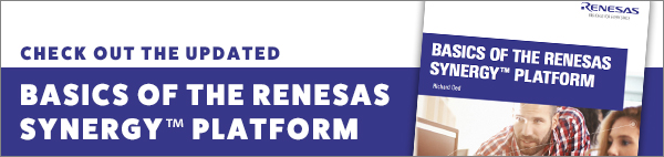 Basics of The Renesas Synergy Platform