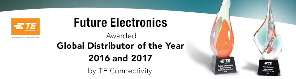 TE Connectivity - Global Distributor of the Year