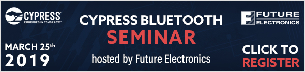 Register for Cypress Bluetooth Seminar
