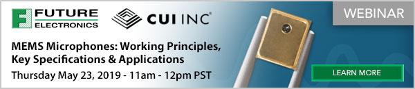 CUI INC - Webinar