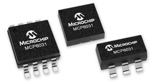 MCP6031 operational amplifier